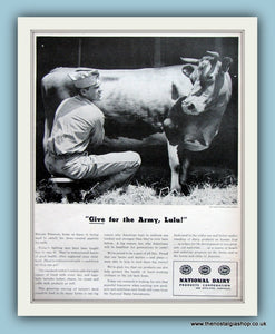 National Dairy Products Corporation. Original Advert 1943 (ref AD8087)