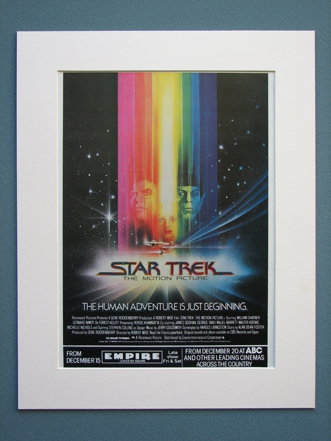 Star Trek Original Advert 1980(ref AD591)