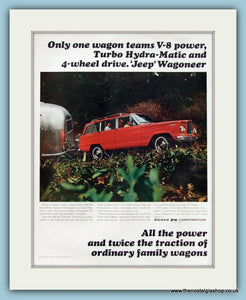 Jeep Wagoneer Original Advert 1965 (ref AD8310)