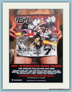 ASH Intergalatic Sonic Sevens 2002 Original Advert (ref AD3166)