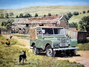 Land Rover classic large print (ref N59)