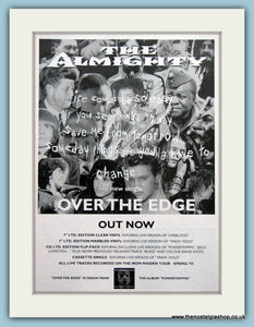 The Almighty, Over The Edge 1993 Original Advert (ref AD3143)