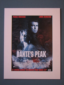 Dante's Peak 1997 Original advert (ref AD536)