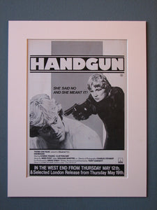 Handgun Original Advert (ref AD485)