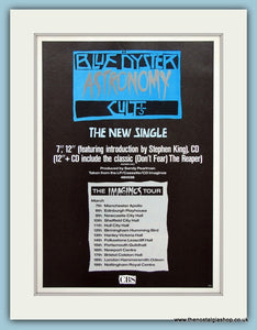 Blue Oyster Cult Astronomy Original Music Advert 1989 (ref AD3399)