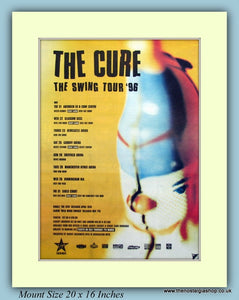 The Cure The Swing Tour 1996 Original Advert (ref AD9164)