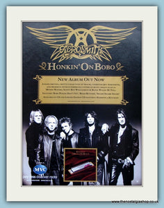 Aerosmith Honkin On Bobo. Original Advert 2004 (ref AD3122)