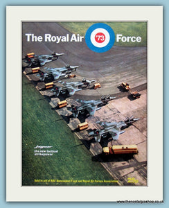 The Royal Air Force 73 Jaguar Original Advert 1973 (ref AD6289)