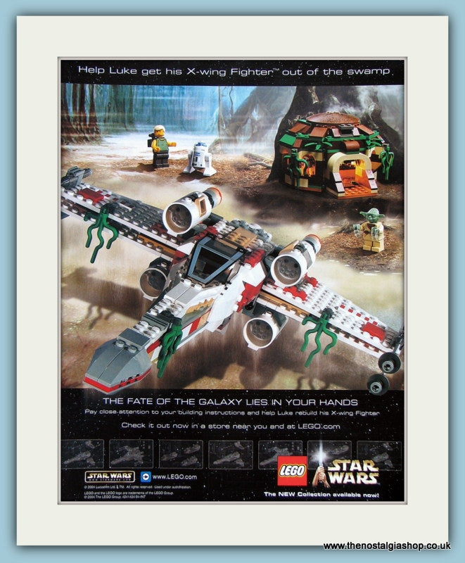 Star Wars Lego X Wing Fighter Original Advert 2004 (ref AD3954)