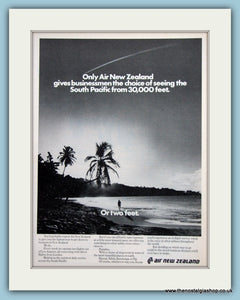 Air New Zealand Original Advert 1980 (ref AD2160)