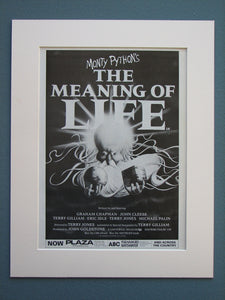 The Meaning Of Life -  Monty Python 1983 Original advert (ref AD711)
