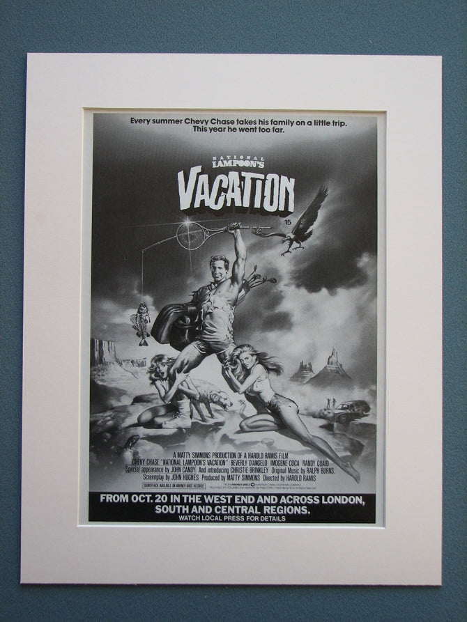 National Lampoon's Vacation 1983 Original advert (ref AD716)