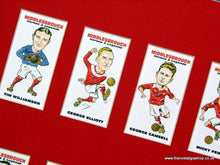 Load image into Gallery viewer, Middlesbrough Heroes and Legends. Mounted Football Card Set.