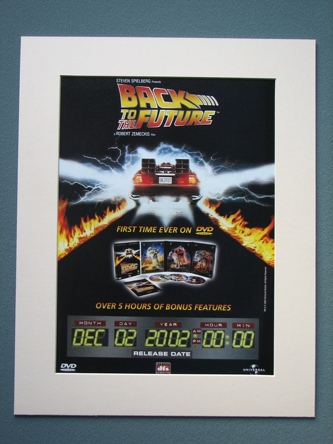 Back to the Future 2002 Original advert (ref AD799)