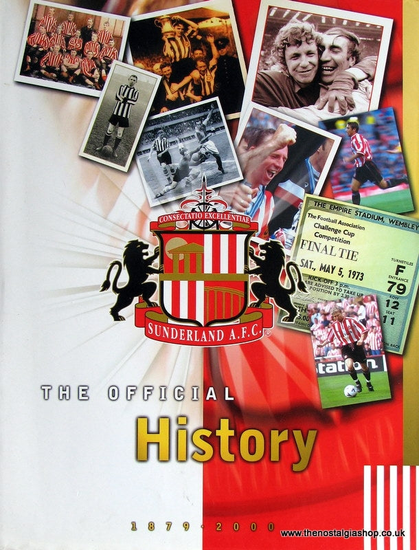 Sunderland A.F.C. The Official History 1879 - 2000. (ref B75)