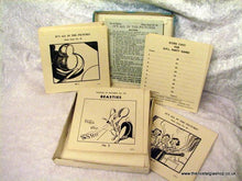 Load image into Gallery viewer, Puzzles in Pictures, Vintage Party Game. (ref nos060f)