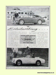 Aston Martin DB2-4 Original Advert 1954 (ref AD6713)