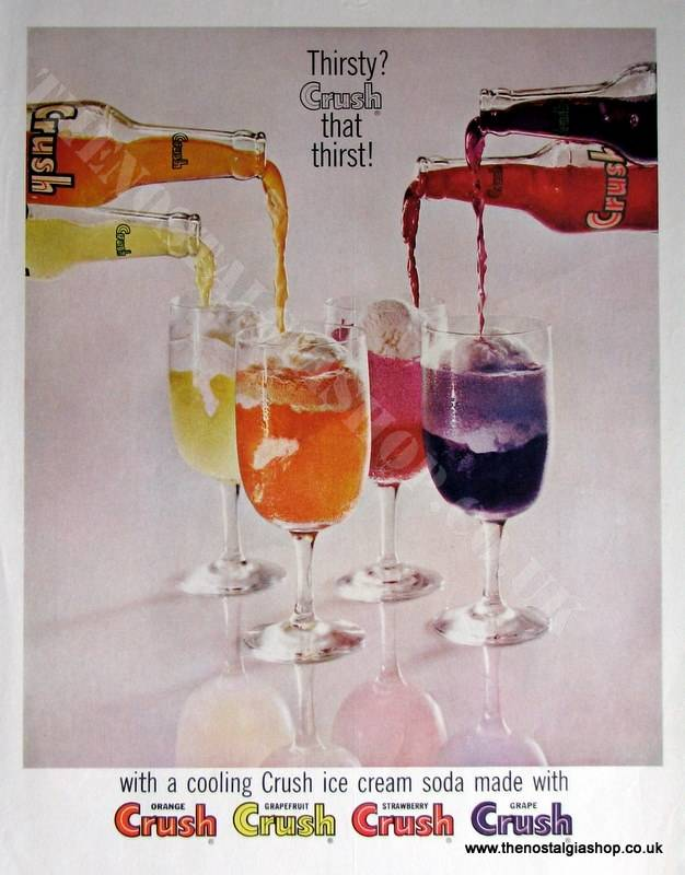 Crush Drink Original Advert (ref AD4017)