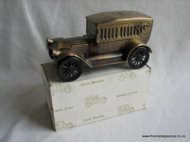 Pierce Arrow Metal Coin Bank. (ref Nos011)