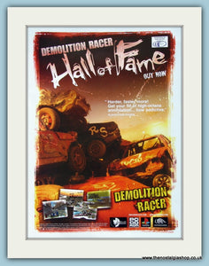 Demolition Racer, Hall of Fame. Original Advert 2000 (ref AD4025)