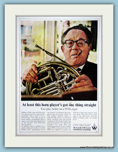 Wills Cigar Original Advert 1966 (ref AD6092)