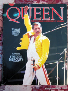 Queen Visual Documentary - Wembley Mem Concert Edition. (ref B133)