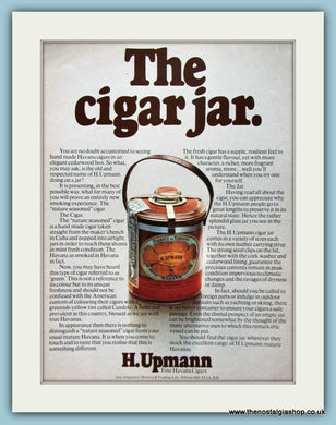 H.Upmann CIgars. Original Advert 1974 (ref AD6033)