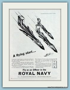De Havilland Sea Vixens Royal Navy Original Advert 1959 (ref AD4251)