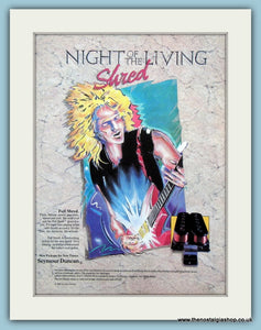 Night of The Living Shred  Full Shred Original Advert 1988 (ref AD2709)