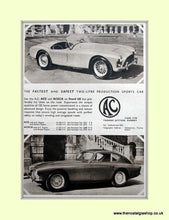 Load image into Gallery viewer, AC Ace & Aceca. Set of 3 Original Adverts (ref AD6616)