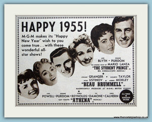 Happy 1955 from M-G-M, Original Advert (ref AD3252)