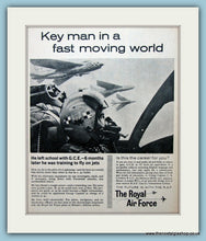 Load image into Gallery viewer, The Royal Air Force Set Of 3 Original Adverts 1962 & 1963 (ref AD6299)