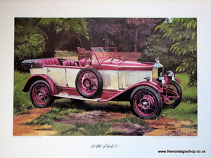 MG 14/40 Mark IV Classic Large Car Print.