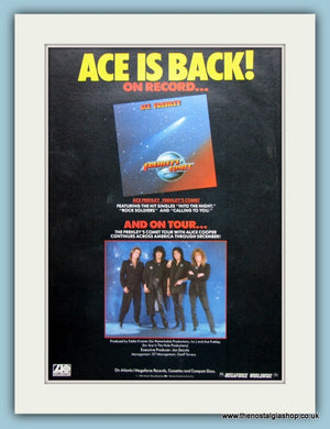 Ace Frehley Frehley's Comet 1987 Original Advert (ref AD3180)