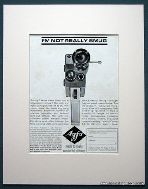 Agfa Camera 1964 Original Advert (ref AD1042)