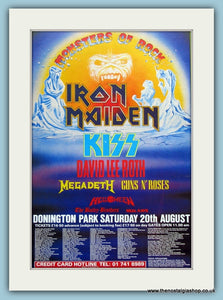 Monsters Of Rock Festival Advert 1988 (ref AD3370)