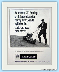 Ransomes 20