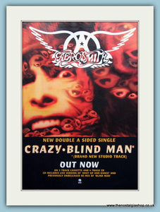 Aerosmith Crazy Blind Man 1994 Original Advert (ref AD3130)