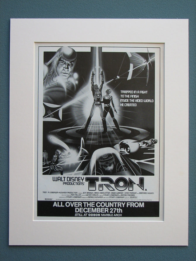 Tron 1983 Original advert (ref AD657)