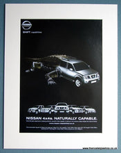 Load image into Gallery viewer, Nissan 4x4s 2007 Set Of 3 Original Adverts (ref AD1736)