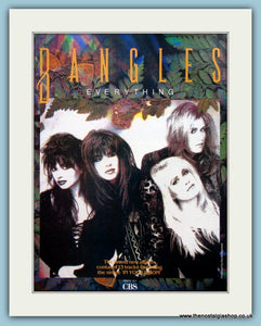 Bangles Everything 1988 Original Music Advert (ref AD3441)