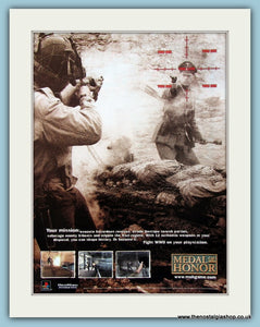 Medal of Honor. Original Advert 2002 (ref AD4024)