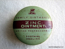 Load image into Gallery viewer, Zinc Ointment Tin. (ref Nos023)