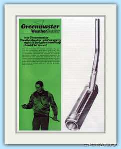 Greenmaster Putters. Original Advert 1968 (ref AD4988)