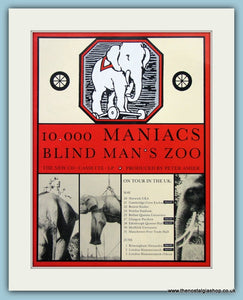 10,000 Maniacs Blind Man's Zoo 1989 Original Music Advert (ref AD3416)