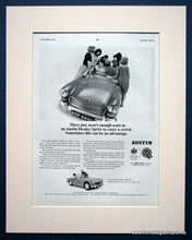 Load image into Gallery viewer, Austin Healey Sprite. Set of 2 Original adverts 1965 (ref AD1388)