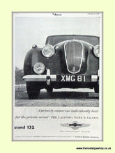 Load image into Gallery viewer, Aston Martin Set Of 2 Original Adverts 1952/55 (ref AD6691)