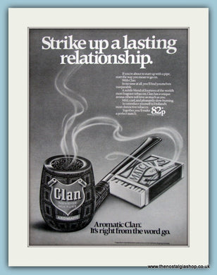 Clan Aromatic Tobacco Original Advert 1979 (ref AD6159)