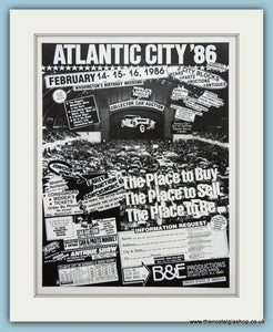 Atlantic City 1986 Car Show. Original Advert (ref AD2009)