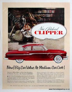 Packard Clipper 1953 Original Advert (ref AD4073)